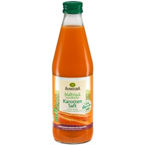Alnatura Bio Karottensaft feldfrisch verarbeitet