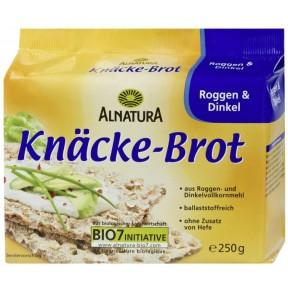 Alnatura Bio Knäcke-Brot Roggen & Dinkel 250 g