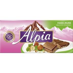 Alpia Haselnuss Schokolade 100 g