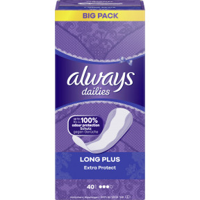 Always Extra Protect Long Plus Slipeinlagen Big Pack 40ST