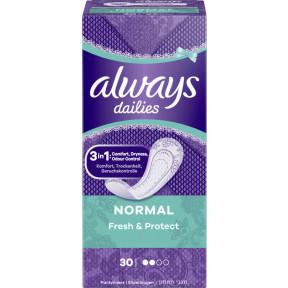 Always Fresh & Protect Normal Slipeinlagen 30ST