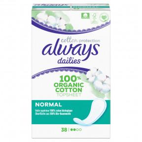 Always Dailies Cotton Protection Normal Slipeinlagen 38ST