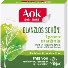 Aok Glanzlos schön! Tagescreme mit weißem Tee 50 ml