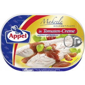 Appel Makrele Gourmet Filets in Tomaten-Creme