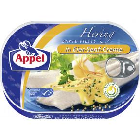 Appel zarte Heringsfilets in Eier-Senf-Creme 200 g