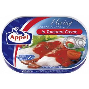 Appel zarte Heringsfilets in Tomaten-Creme 200 g