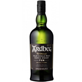 Ardbeg 10 Jahre Single Malt Whisky 0,7 ltr