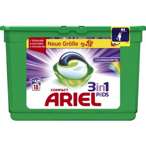 Ariel Compact 3 in 1 Pods Colorwaschmittel 538,2 g