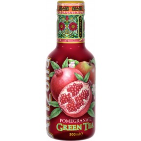 Arizona Green Tea Pomegranate 0,5 ltr