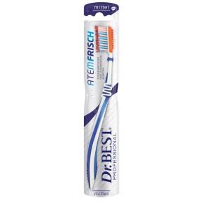Dr.BEST Zahnbürste Atemfrisch mittel verschiedene Farben