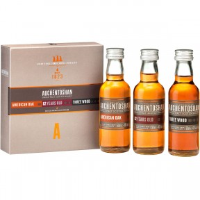 Auchentoshan Gift Collection American Oak/12 Jahre/Three Wood