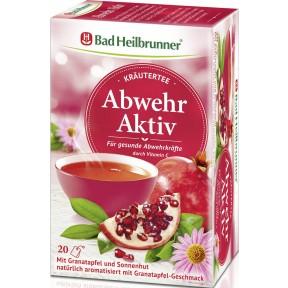 Bad Heilbrunner Abwehr Aktiv Käutertee 20x 1,8 g