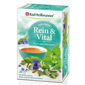 Bad Heilbrunner Rein & Vital Kräutertee 20x 2 g