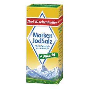 Bad Reichenhaller Markenjodsalz mit Fluorid 500 g