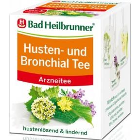 Bad Heilbrunner Husten- und Bronchialtee 8ST 16G