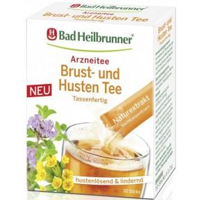 Bad Heilbrunner Brust- und Hustentee im Stick 10ST 12G