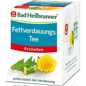 Bad Heilbrunner Fettverdauungstee 8ST 14,4G