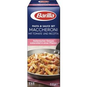 Barilla Koch-Set für Maccheroni Tomate und Ricotta 510 g