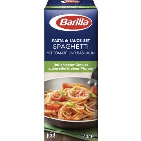 Barilla Koch-Set für Spaghetti Tomate und Basilikum 510 g