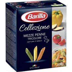 Barilla Nudeln La Collezione Mezze Penne Tricolore 500 g