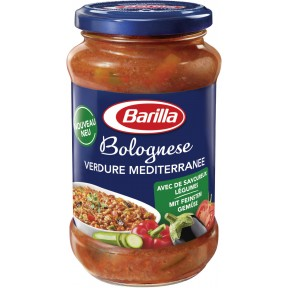 Barilla Pasta Sauce Bolognese Verdure Mediterranee