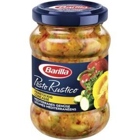 Barilla Pesto Rustico mediterranes Gemüse 175 g