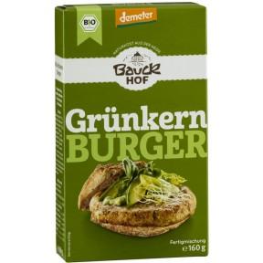 Bauckhof Demeter Bio Grünkern Burger 160g