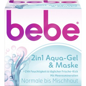 bebe 2in1 Aqua-Gel & Maske 50 ml