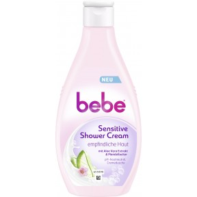 bebe Sensitive Shower Cream 250 ml