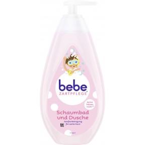 bebe Zartpflege Schaumbad und Dusche 500 ml