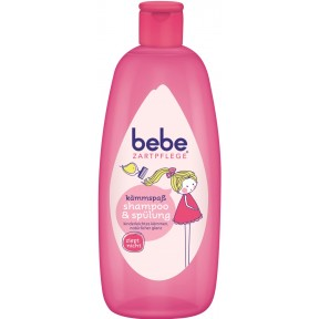 bebe Zartpflege Kämmspaß Shampoo & Spülung