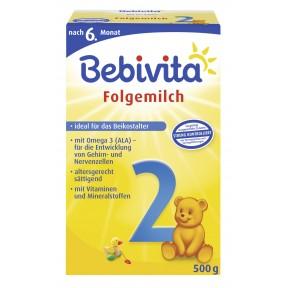 Bebivita Folgemilch 2 nach dem 6. Monat 0,5 kg