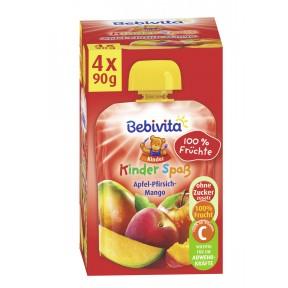 Bebivita Kinder Spaß Apfel-Pfirsich-Mango ab 1 Jahr