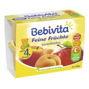Bebivita Feine Früchte Gartenfrüchte nach dem 4. Monat