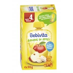 Bebivita Banane in Apfel nach dem 4. Monat klein