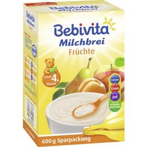 Bebivita Milchbrei Früchte nach dem 4. Monat