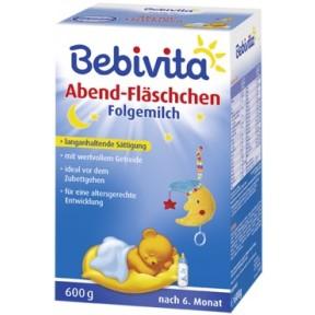 Bebivita Abend-Fläschchen Folgemilch nach dem 6. Monat