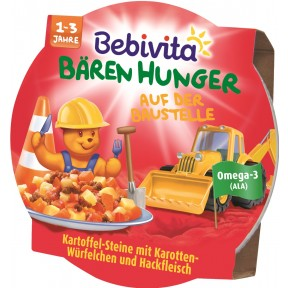 Bebivita Bären Hunger Auf der Baustelle 1-3 Jahre