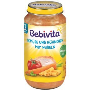 Bebivita Gemüse Hühnchen Nudeln ab 12. Monat 250 g
