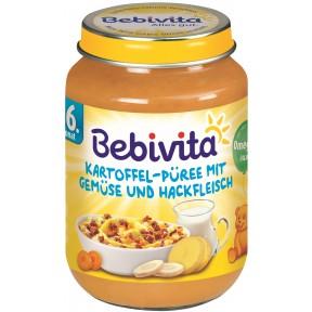 Bebivita Kartoffel-Püree mit Gemüse und Hackfleisch ab 6. Monat