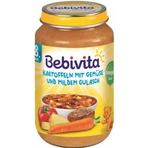 Bebivita Kartoffeln mit Gemüse und mildem Gulasch ab 8. Monat