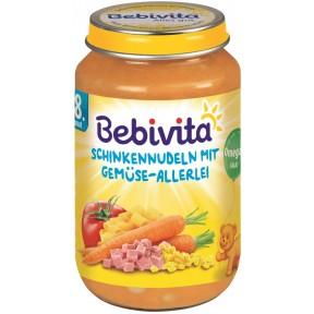 Bebivita Schinkennudeln mit Gemüse-Allerlei ab 8. Monat