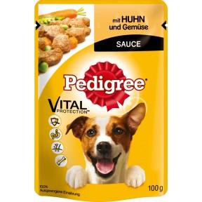 Pedigree mit Huhn und Gemüse Beutel Hundefutter nass