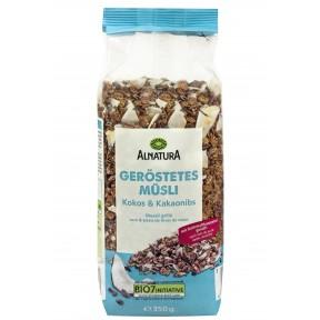 Alnatura Bio Geröstetes Müsli Kokos & Kakaonibs 350 g