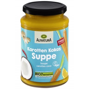Alnatura Bio Karotten Kokos Suppe 375 ml