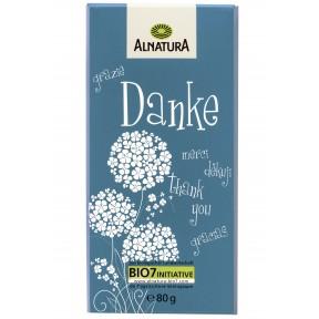 Alnatura Bio Vollmilch-Schokolade Danke