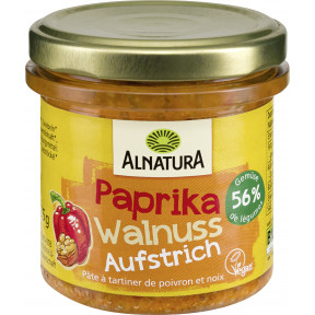Alnatura Bio Paprika Walnuss Aufstrich 135 g