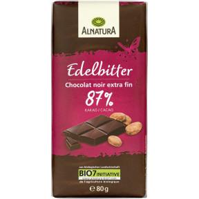 Alnatura Bio Edelbitter Schokolade 80 g