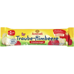 Alnatura Bio Früchteriegel Traube-Himbeere 23 g