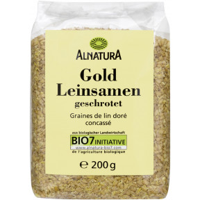 Alnatura Bio Goldleinsamen geschrotet 200G